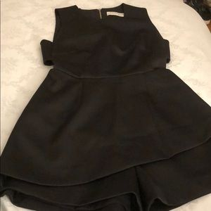 Women's Keepsake size XS romper with open sides